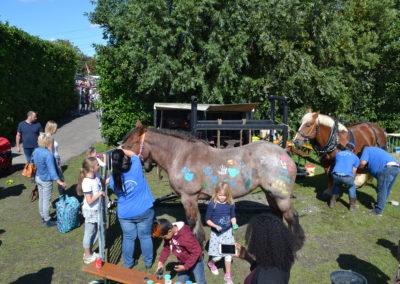 paardje verven